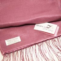 Plum or Light Aubergine Pashmina by Simply Devine